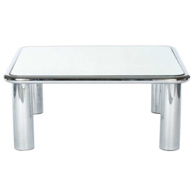 Mirror coffee table Mario Belini